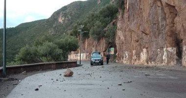 الجزائر تحذر المواطنين من التنقل بمواقع صخرية بمنطقة بجاية خوفا من الانهيارات