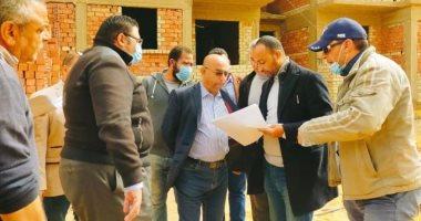 """جهاز """"أكتوبر الجديدة"""" يتابع  تنفيذ 24888 شقة بمبادرة الرئيس """"سكن كل المصريين"""""""