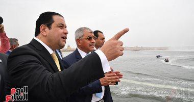 """""""نقل النواب"""" يتابع تطوير مشروعات أرصفة ميناء الدخيلة: النقل البحرى يشهد إنجاز كبير"""