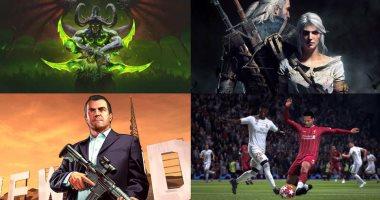 أكثر 10 ألعاب يمارسها المستخدمون أونلاين فى العالم