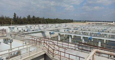الانتهاء من تنفيذ المرحلة الأولى من محطة معالجة الصرف الصحي بمدينة السادات