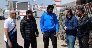 المدرب الجديد يجتمع مع كارتيرون فى الزمالك