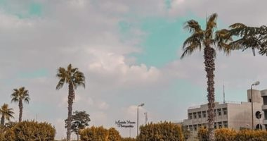 """""""مصطفى"""" يشارك """"صحافة المواطن"""" بصور لجامعة حلوان تبرز موهبته"""