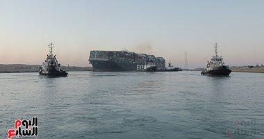 من أين جاءت فكرة تكريك السفينة الجانحة بقناة السويس؟.. فيديو