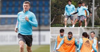 كروس يعود لقائمة ريال مدريد ضد إيبار.. وغياب راموس وهازارد
