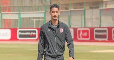بدر بانون يشارك في مران الاهلي بعد مباراة المصري بسبب الإجهاد