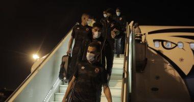 بعثة الأهلى تصل مطار الخرطوم استعدادا لمواجهة المريخ السودانى