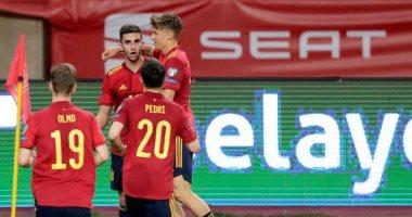 أهداف الأربعاء.. سقوط ألمانيا أمام مقدونيا وثلاثية اسبانيا بتصفيات كاس العالم