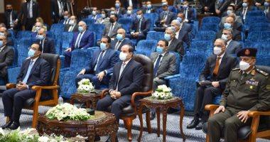 الرئيس السيسى يوجه بتوطين صناعة أدوية الأورام داخل مصر بنسبة 100 %.. صور