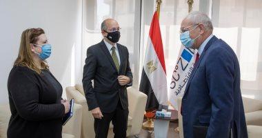 يحيى زكى يعرض فرص الاستثمار على سفير المجر الجديد فى مصر