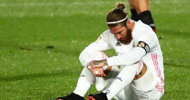 راموس يغيب عن ريال مدريد 7 مباريات بسبب الإصابة.. أبرزها عدم مواجهة صلاح