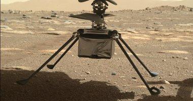 شاهد هليكوبتر ناسا تنزل أرجلها الأربع على سطح المريخ