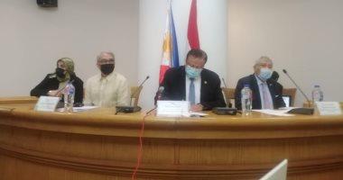 """سفير الفلبين من """"الأعلى للثقافة"""": مصر قلب أفريقيا ونحرص على علاقتنا بها"""