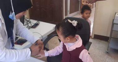 تطعيم 24 ألف طفل ضد مرض شلل الأطفال بجنوب سيناء