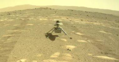 هليكوبتر ناسا تهبط على سطح المريخ