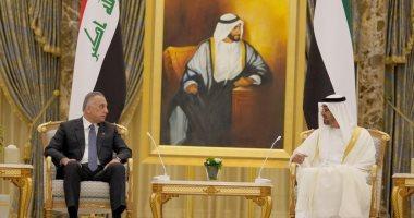 حكومة العراق: الكاظمى يبحث مع ولى عهد أبو ظبى تطوير التعاون المشترك
