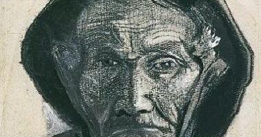 """شاهد.. فان جوخ يرسم """"صيادا عجوزا"""" ملامح وجهه معبرة"""