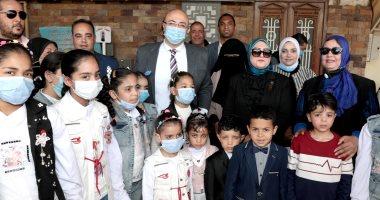 محافظة بنى سويف تحتفل بيوم اليتيم بفقرات فنية وترفيهية.. فيديو