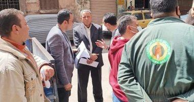 النائب أحمد زيدان يتابع دخول الغاز الطبيعى بحى الساحل فى القاهرة