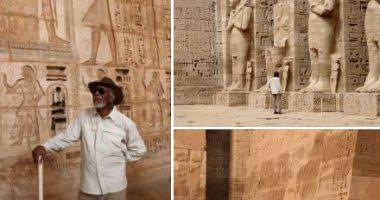 قبل مورجان فريمان..7 نجوم عالميين تمتعوا بمشاهدة الحضارة المصرية فى 12 صورة
