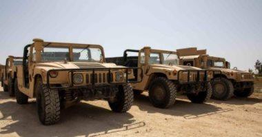 القوات العراقية تتسلم معدات من التحالف الدولى بـ 18 مليون دولار.. صور