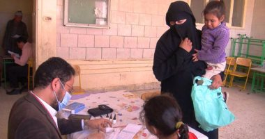 """الكشف على 500 مواطن فى قافلة طبية بقرية الكرم فى المنيا ضمن """"حياة كريمة"""""""