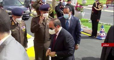 بث مباشر ..الرئيس السيسى يفتتح مشروع مجمع الوثائق المؤمنة والذكية