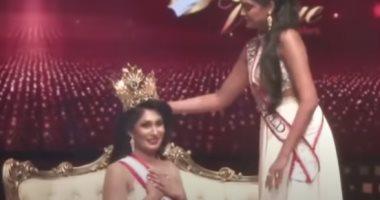 """اكتشفوا إنها مطلقة.. سحب اللقب من ملكة جمال سريلانكا للمتزوجات """"صور"""""""