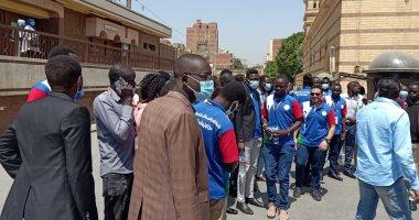 """""""الشباب والرياضة"""" تنظم جولة سياحية لشباب جنوب السودان (صور)"""