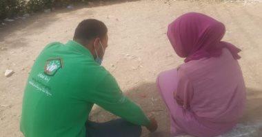 وزيرة التضامن توجه بتوفير الرعاية لطفلة تعانى من التفكك الأسرى بالمنيا