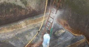 رئيس مياه القناة: تطهير الخزانات وشبكات المياه استعدادا لفصل الصيف