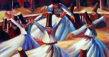 لوحة الدراويش.. حكاية أغلى لوحة فى الشرق الأوسط رسمها محمود سعيد