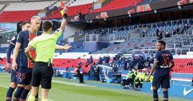 إيقاف نيمار مباراتين في الدوري الفرنسي بعد أحداث مباراة ليل