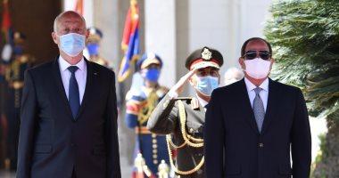 شاهد كيف أبرزت الرئاسة التونسية زيارة قيس سعيد للقاهرة وإعجابه بالمعالم المصرية