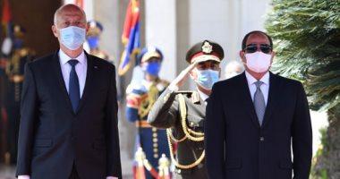 الرئيس التونسى: الأمن القومى لمصر أمننا ولن نقبل المساس بالمياه