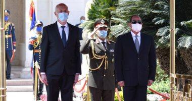الرئيس السيسي: اتفقنا على إعلان 2021 – 2022 عاما للثقافة المصرية التونسية