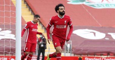 محمد صلاح ملك الأرقام القياسية فى فوز ليفربول على أستون فيلا