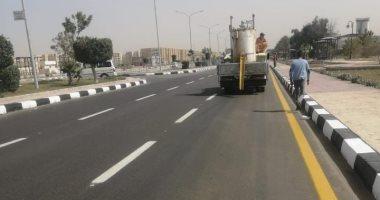 رئيس جهاز العاشر من رمضان: رفع كفاءة محور مصر النور بطول 6.5 كم