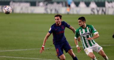 أتلتيكو مدريد يواصل السقوط في الدوري الاسباني بتعادل جديد ضد بيتيس.. فيديو