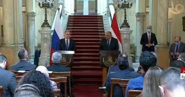 وزير الخارجية: تحديد موعد لعقد مشاورات 2+2 مع الجانب الروسي