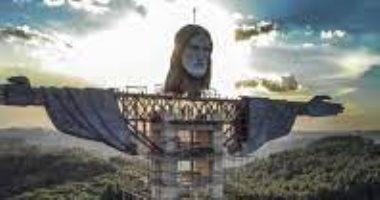البرازيل تشيد ثالث أطول تمثال فى العالم للسيد المسيح.. صور