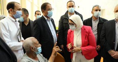 """وزيرة الصحة توجه بصرف """"مكافأة شهر"""" للعاملين بمستشفى العديسات فى الأقصر"""