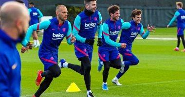 """برشلونة يستعد لأتلتيك بيلباو قبل نهائي كأس الملك: """"نضع اللقب نصب أعيننا"""""""