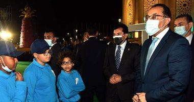 """رئيس الوزراء: توزيع كروت بالمجان لشباب """"ها أنا احقق ذاتى"""" لدخول مراكز الشباب.. صور"""
