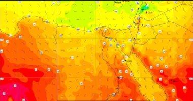 الأرصاد تنشر صورا لأقمار الصناعية تشير لاستمرار ارتفاع درجات الحرارة