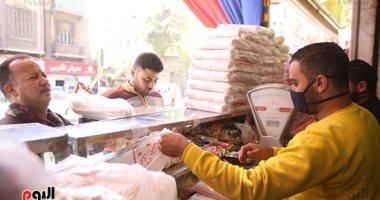 رمضان مشهور بحلوياته..  إقبال كبير على شراء الكنافة والقطايف.. ألبوم صور