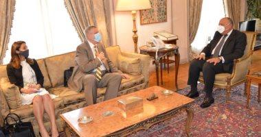 وزير الخارجية: مساع مصرية لإخراج المرتزقة والمُقاتلين الأجانب من ليبيا