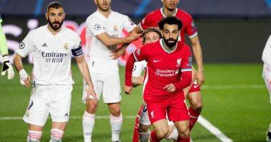 التشكيل الرسمي لمواجهة ليفربول ضد الريال .. محمد صلاح في مواجهة بنزيما