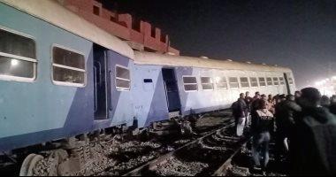 خروج 12 مصابًا فى حادث قطار منيا القمح والإبقاء على 3 أخرين تحت الملاحظة