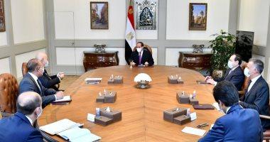 """الرئيس السيسى يوجه بمواصلة التعاون المكثف مع """"إينى"""" وتدعيم نشاطها وجهودها بمصر"""